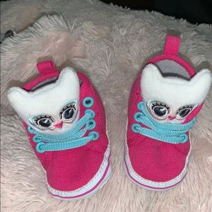 Owl high top shoes